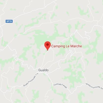 Locatie Camping le Marche