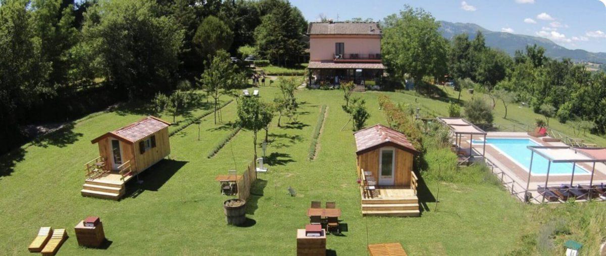 Camping en Villa